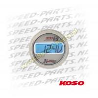 Teller Koso - Voltmeter / Spanningsmeter - Blauw