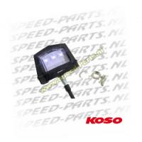 Nummerplaat verlichting Koso - 3 leds - Universeel