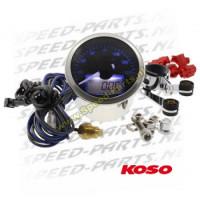 Teller Koso - Eclipse - Motor draaiuren / Toerental / Temp