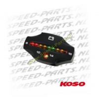 Teller Koso - Volt meter - 8-16 Volt - Zwart