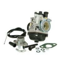 Carburateur kit Malossi PHBG 19 AS met KlemmFlens 24mm voor GR1, Peugeot verticaal