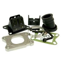 Inlaatsysteem  Set Malossi MHR X360 Viton 21mm voor Minarelli AM, Derbi EBE, EBS, D50B0, Generic, CPI