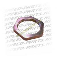 Koppeling moer Minarelli / Piaggio / Peugeot (m28x1)