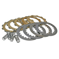 Koppelingsplaten Set Polini versterkt voor Derbi Senda GPR, Aprilia RS RX SX, Gilera RCR, SMT (D50B0), EBE, EBS