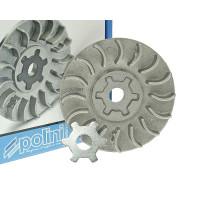 Halfpoulie / koelvin Polini Air Speed incl. Sternscheibe 13mm voor Minarelli