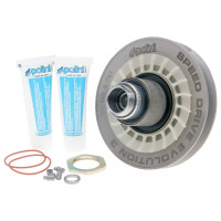 Poulies Kit Polini Ceramic Speed Drive Evolution 3, 128mm voor Minarelli