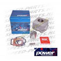 Cilinder - Power 1 - Aluminium - 50cc - Gilera / Piaggio AC