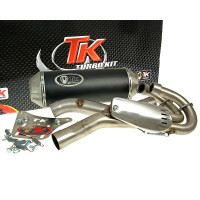 Uitlaat Turbo Kit 2-in-1 Quad / ATV voor Yamaha YFM 660R Raptor