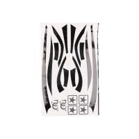 Stickerset R&D zwart voor Piaggio Zip 50 2T SP LC 96-99