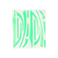Stickerset R&D fluor groen voor Piaggio Zip 50 2T SP LC 00-13