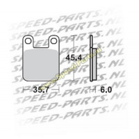 Remblokset Peugeot / Derbi - AJP