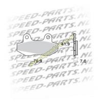 Remblokset Honda MBX/NSR