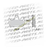 Remblokset Honda X8RS achter