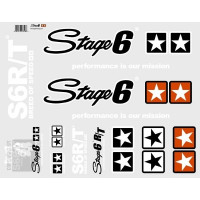 Stickerset Stage 6 - Type II wit