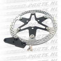 Remschijf Stage 6 - MKII Star - Yamaha Aerox / Neo's - Zwart