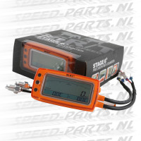 Teller Stage 6 R/T - Toerenteller Inclusief 2 Temperatuur meters - Oranje