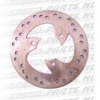 Remschijf DMP - Piaggio Zip 2000 / 2006> 4-Takt - Voor