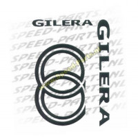 Stickerset - Gilera carbon