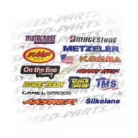 Stickerset - Motocross