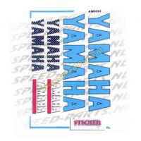 Stickerset - Sponsorkit Yamaha