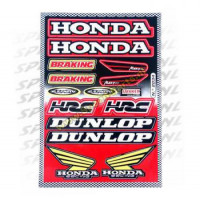 Stickerset - Sponsorkit Honda / Dunlop