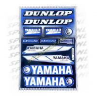 Stickerset - Sponsorkit Yamaha / Dunlop