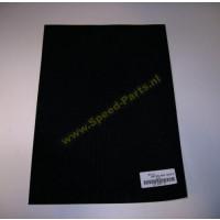 Stickervel - Carbon Dik zwart (50x35cm)