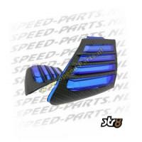 Luchthapperset - Aprilia SR Factory - Carbon / Blauw