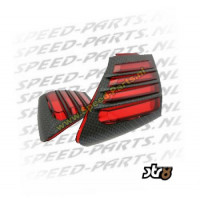 Luchthapperset - Aprilia SR Factory - Carbon / Rood