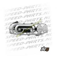 Kickstartdeksel Str8 Gefrased - Minarelli Horizontaal - Chroom