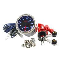 Teller Koso - Toerenteller / Shiftlight - Zwart / Blauw (max 15.000)