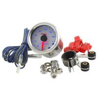 Teller Koso - Toerenteller / Shiftlight - Wit / Blauw (max 15.000)