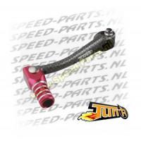 Schakelpedaal Tun'R - Minarelli AM6 - Carbon / Rood