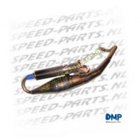 Uitlaat - DMP - Blank - Piaggio Fly / Zip 4-takt