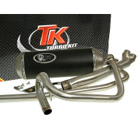 Uitlaat Turbo Kit 2-in-1 X-Road voor Hyosung GT125