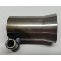SP-line - Adapter voor losse tailpijp (tailringen plaatsen mogelijk) - 22mm
