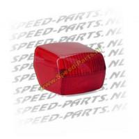 Achterlichtglas Peugeot Fox rood