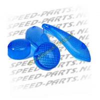 Knipperlichtglasset Aerox na 1999 blauw