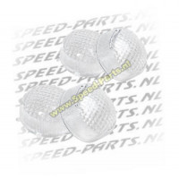 Knipperlichtglasset Peugeot Ludix wit