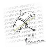 Kruiskopbout - Spatbord over wiel - Vespa LX