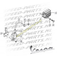 Spanningsregelaar - Vespa LX 4-Takt