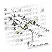 Subframe - Vespa LX 4T