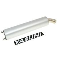Einddemper Yasuni Aluminium = YAZ-SIL034R